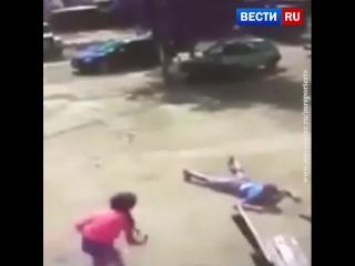 Смерч поднял в воздух человека под Одессой