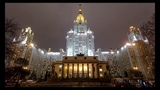 Moscow Night Russian Lullaby 4K Ultra HD Music Video Time Lapse 12 Hours In 4 Min