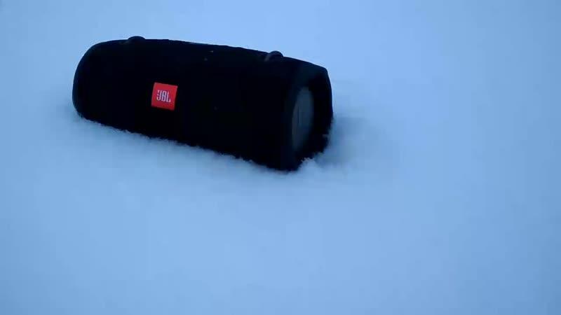 JBL Xtreme 2 Snow test