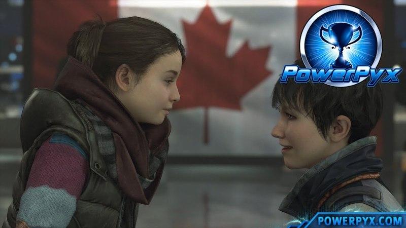 Detroit Become Human - HAPPY FAMILY SAFE HARBOR Trophy Guide (Canadian Border Ending)