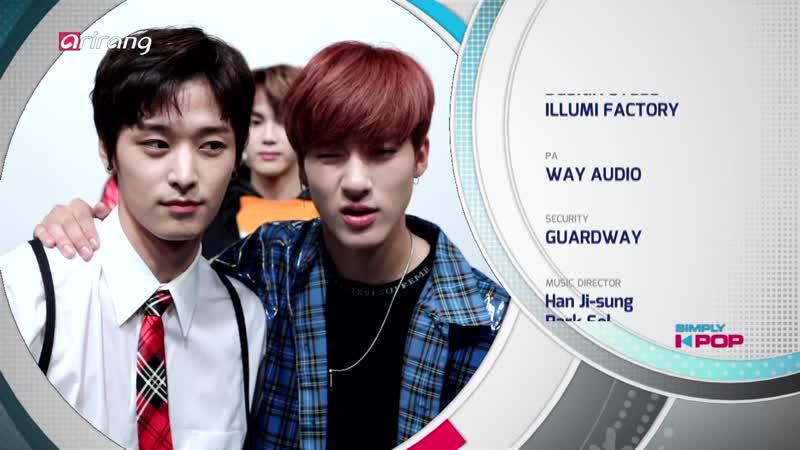181006 ArirangTV Simply K-Pop 더보이즈 엔딩 미션cut