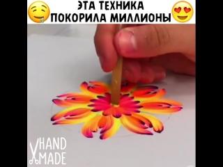 Популярная техника рисунка