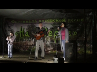Ксюша, Михаил и Ирина Клейманы