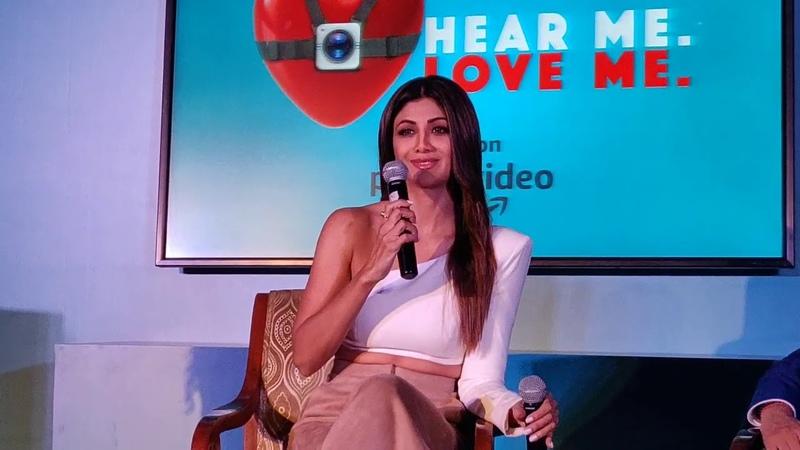 Amazon Prime launches prime original series, Hear Me. Love Me. | Shilpa Shetty