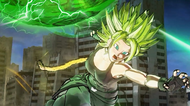 LEGENDARY POWER! Legendary Super Saiyan CaC Transformation! | Dragon Ball Xenoverse 2 Mods