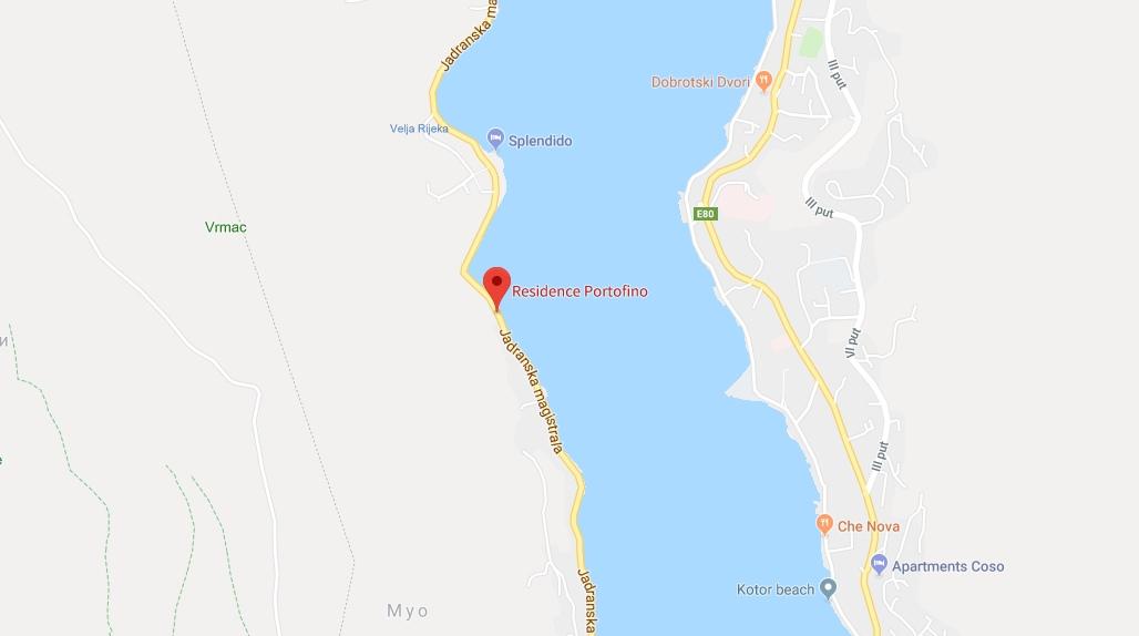Apartments Residence Portofino in Kotor