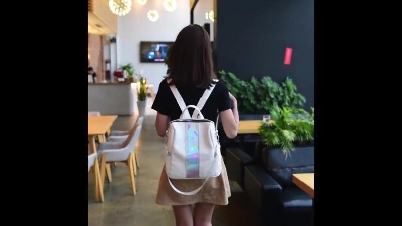 Флеш-рюкзак для молодой девочки-подростка