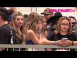 Erika Costell  A Squad Of Models Arrive To Jake Paul  Logan Pauls Boxing Press Conference