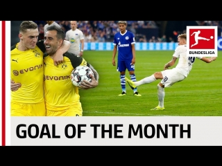 Top 10 Goals September - Vote For The Goal Of The Month