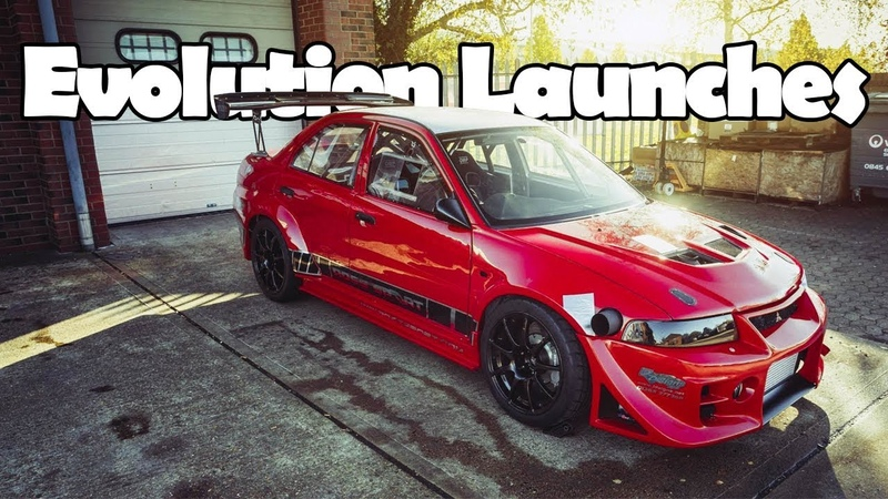 Craziest Mitsubishi Lancer Evolution Launches