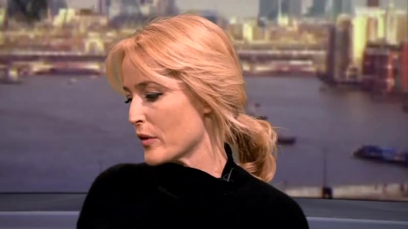 Being Informed 44 _ Gillian Anderson campaigns against modern slavery (2016)