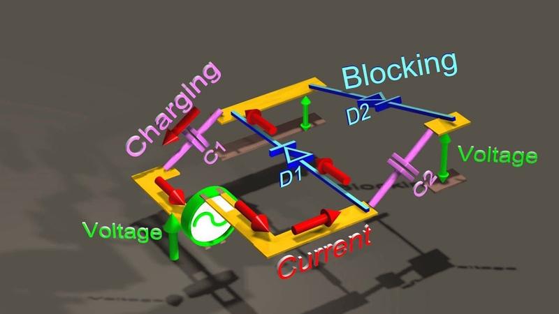 Voltage multiplier Generating over 100 000 volts DC