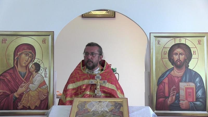 Проповедь в день памяти преподобного Моисея Угрина, Печерского. Священник Игорь Сильченков