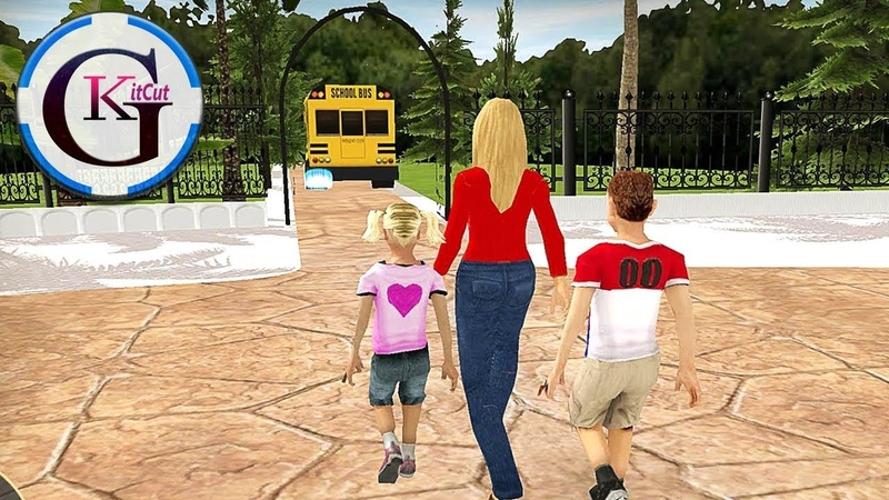 Virtual Mother Happy Family Life Simulator 3D Game Play For Kids (Sim Studio)