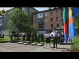 Молодая Гвардия Донбасса на митинге памяти по погибшим горловчанам. г. Головка. ДНР. 27 июля 2018г.