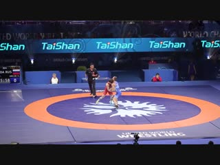 2018 FINAL -60 kg ЕМЕЛИН (RUS) - ЧИОБАНУ (MDA) Greco-Roman wrestling world championship
