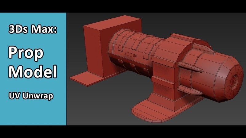 3Ds Max Prop 02 UV Unwrapping