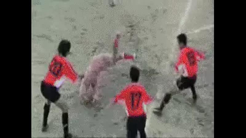 Break dance soccer Shaolin Soccer
