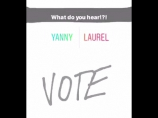 WHAT DO YOU HEAR؟ LAUREL OR YANNY!! ٭MUST LISTEN٭