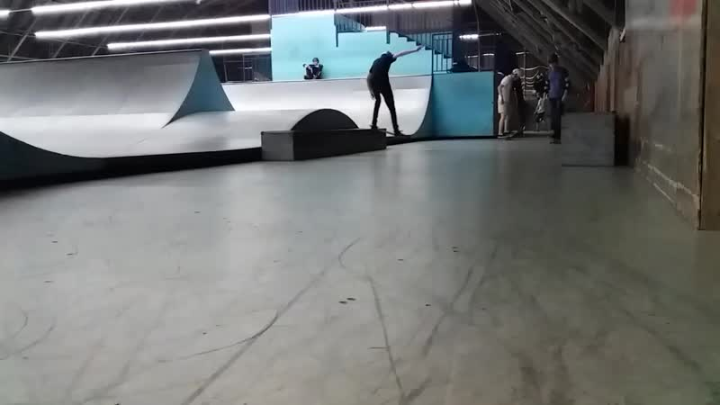 Ramses's a new dream skate trick - fakie bigspin inward heel 18.02.2019