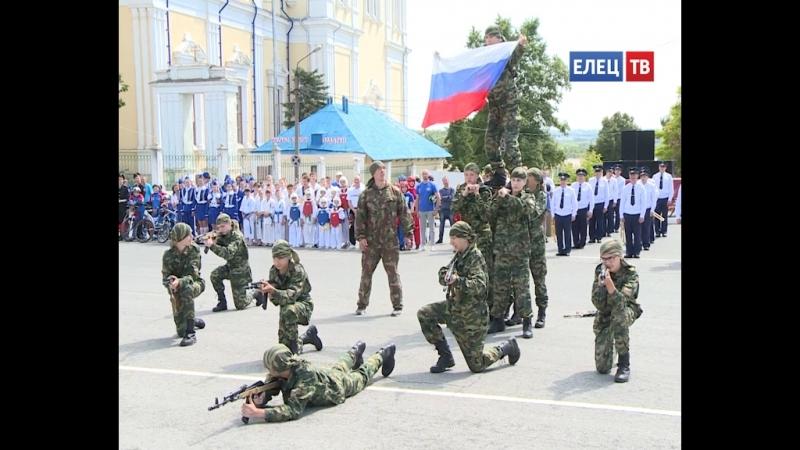 Ловкие, смелые, творческие. Представители спортивных и военно-патриотических организаций молодежи выступили