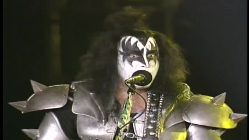 KISS I Was Made For Lovin' You Live At Dodger Stadium