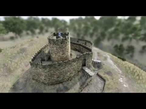 Ewloe Castle 13th Century and Present Day