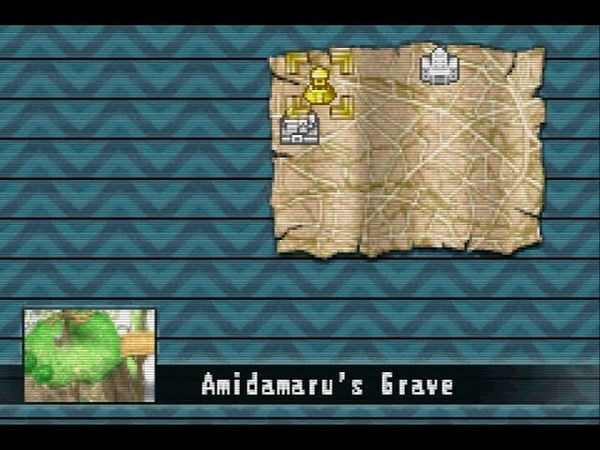 Shaman King Legacy of the Spirits Часть 1 Могила Амидамару Прохождение на GBA