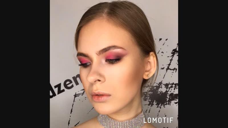 Розовый макияж 💄