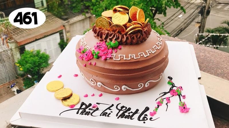 Chocolate cake decorating bettercreme 461 Bánh Kem Đơn Giản Đẹp Túi Vàng 461