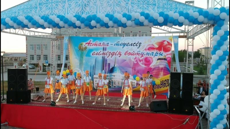 Астананың 20 жылдығына орай ұйымдастырылған Ақ ордам бақыттысың бүгін ерек атты мерекелік шарасынан бейнеүзінді.