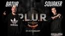 Batur vs. Squaker | 1/12 | HIP-HOP 1x1 | P.L.U.R. Battle The Cypher