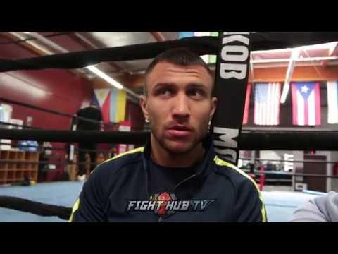 VASYL LOMACHENKO SAYS HE'S DOWN TO FIGHT MANNY PACQUIAO AT 135LBS vasyl lomachenko says he's down to fight manny pacquiao at 135