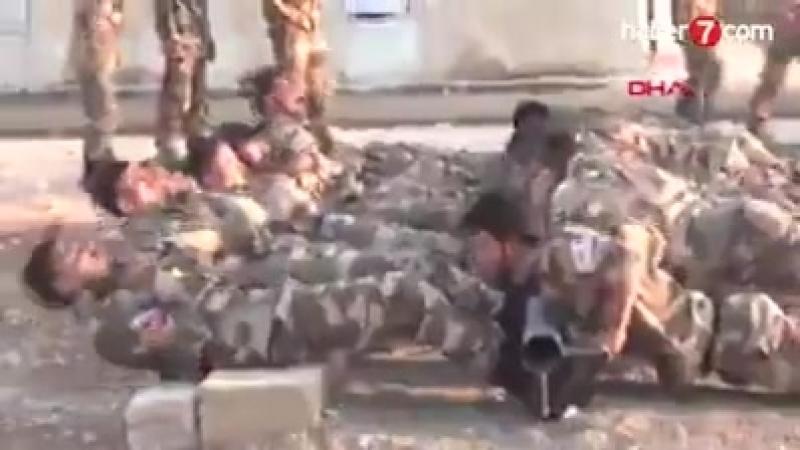 Турецкий телеканал Haber7 посетил базу повстанцев