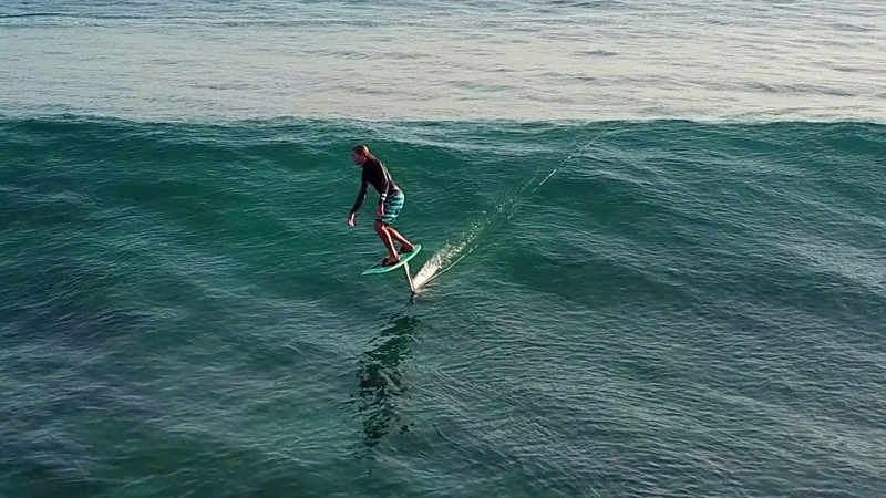Tow In Surfing with the Lift eFoil