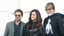 """Altamarshi on Instagram: """"Reposted from @srkuniverse - Amitabh Bachchan and Shah Rukh Khan pose post shooting a song got movie badla in Mumbai to..."""