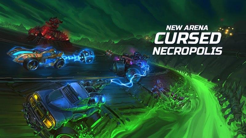 В Heavy Metal Machines добавили арену «Проклятый Некрополь»