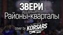Звери - Районы кварталы (Cover by KORSARS band)