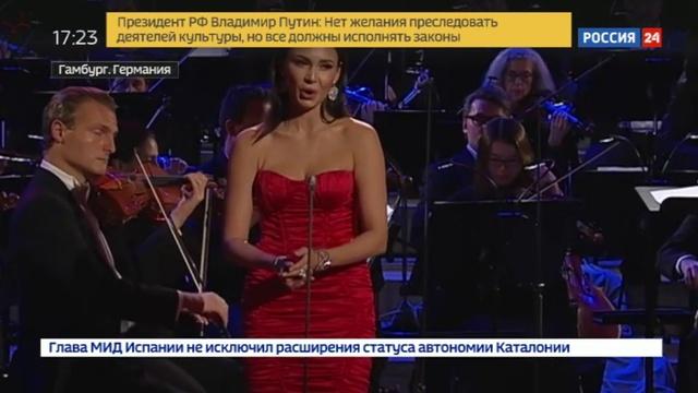 Новости на Россия 24 • Аида Гарифуллина завоевала музыкальный Олимп, получив ECHO Klassik