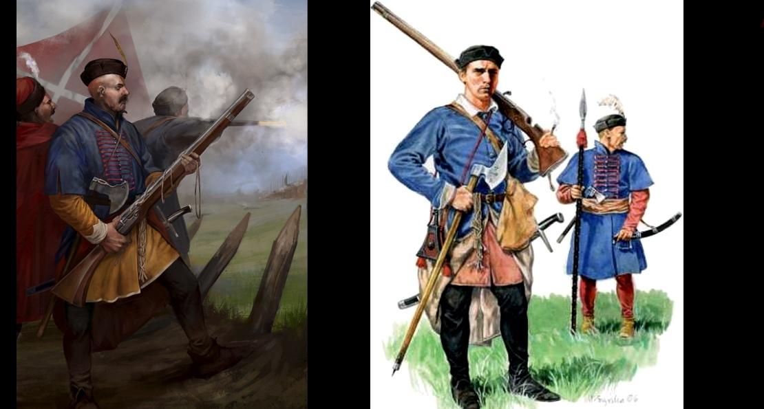 Бойцы пехоты