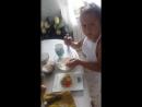 Василиса стряпает вкусное печенье из разных вкусностей