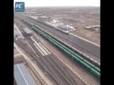 Мега-проект Китая Железная дорога Аддис-Абеба Джибути.