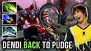 Dendi Pudge EPIC SH*T 1 HOUR Game Insane Comeback Aghanim's Scepter Ethereal Blade Build - Dota 2