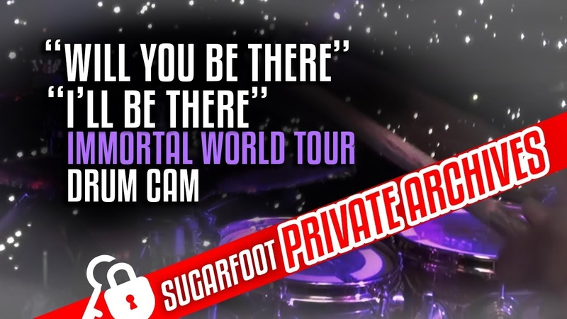 Jonathan Moffett Drum Cam - Will You Be ThereIll Be There - MJ Immortal Tour