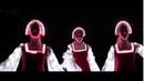 Русский народный танец девушек в светящихся платьях Невероятно красиво