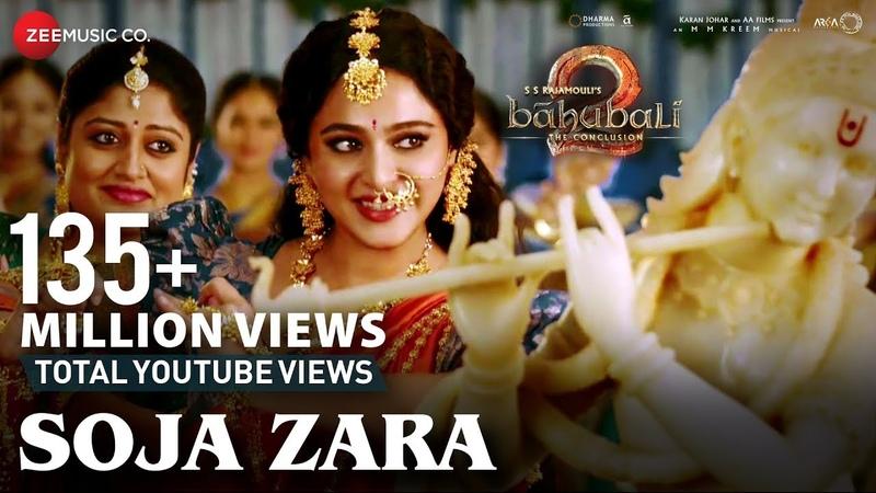 Soja Zara   Baahubali 2 The Conclusion   Anushka Shetty Prabhas Satyaraj   Madhushree  M.M.Kreem