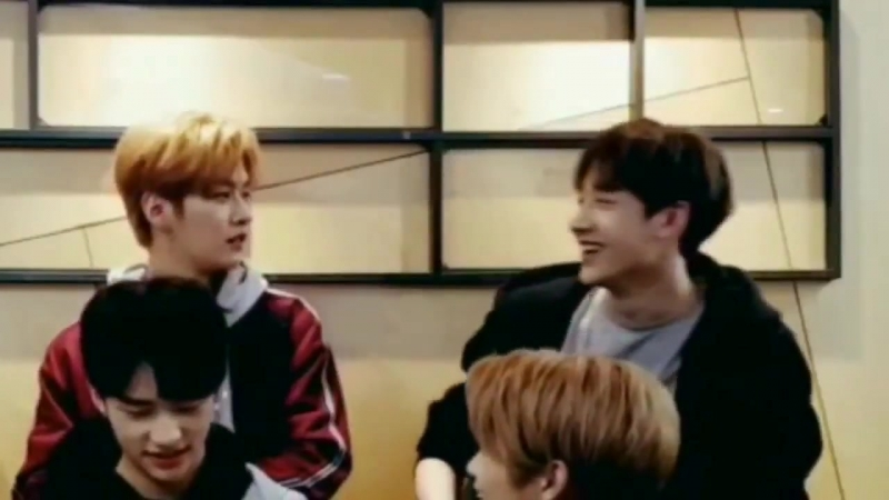 Chan immediately regretting that he made a joke out of minho's stage name httpst.cojYNkOdS5hs