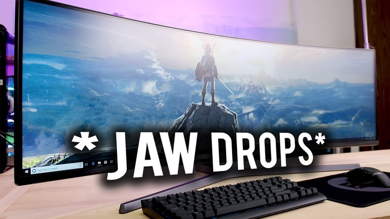 Should you game on a SUPER ULTRAWIDE DISPLAY