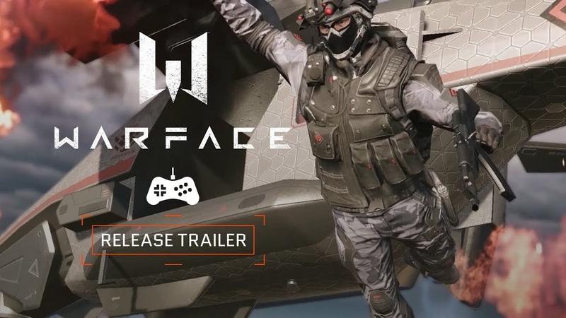 Релизный трейлер Warface (PlayStation 4)