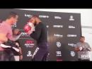 Thiago Santos UFC Sao Paulo Open Workouts Complete - MMA Fighting